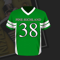 Football Jersey Magnet (front)