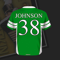 Football Jersey Magnet (back)
